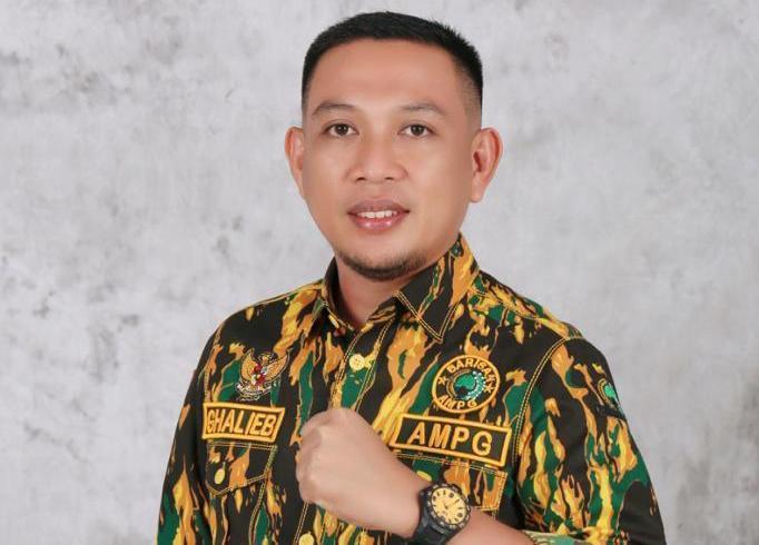 Ketua AMPG Gorontalo, Ghalieb Lahidjun: Ganggu Golkar Berarti Berhadapan Dengan AMPG