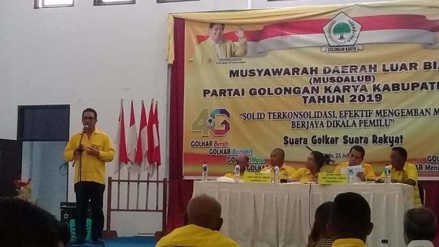 Melkiades Laka Lena Siapkan Kader Terbaik Golkar NTT Untuk Jadi  Wabup Ende