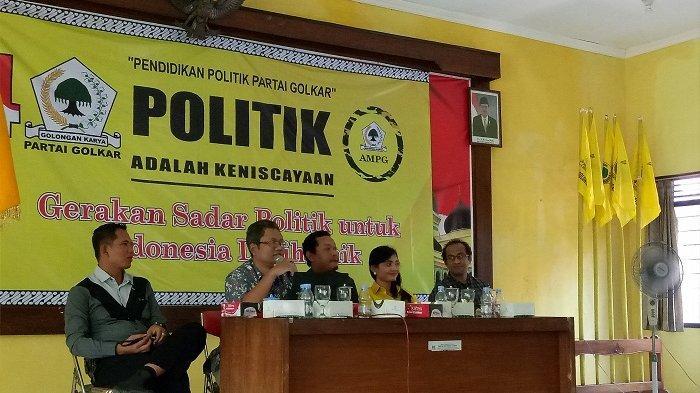Giyarto Tegaskan Golkar Sukoharjo Nyaman Koalisi Dengan PDI Perjuangan di Pilkada 2020