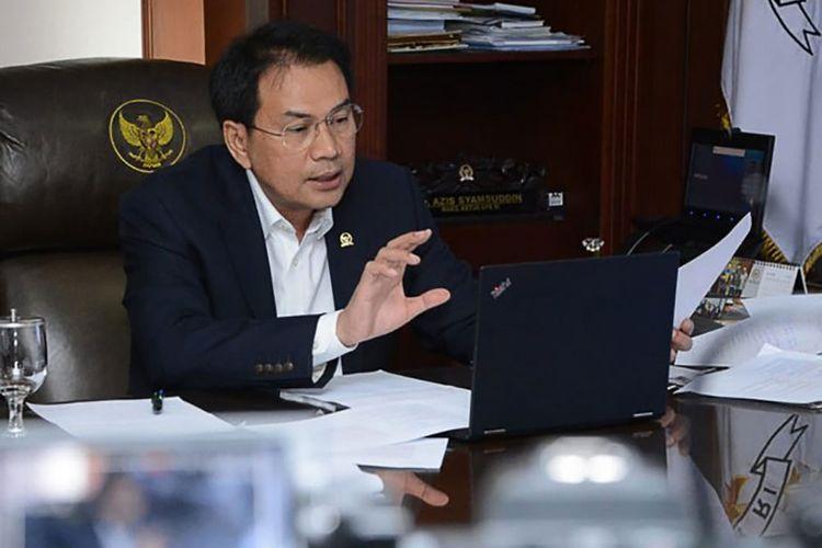 Dilibatkan Awasi PSBB, Azis Syamsuddin Minta TNI-Polri Kedepankan Persuasif Daripada Represif