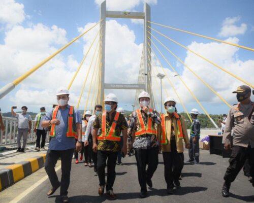 Bakal Tingkatkan Perekonomian Sultra, Ridwan Bae Minta Jembatan Teluk Kendari Rampung Tahun Ini