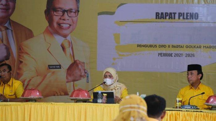 Suami Gabung Partai Lain, Suhartina Bohari Pecat Anggota Fraksi Golkar DPRD Maros Wahyuni Malik