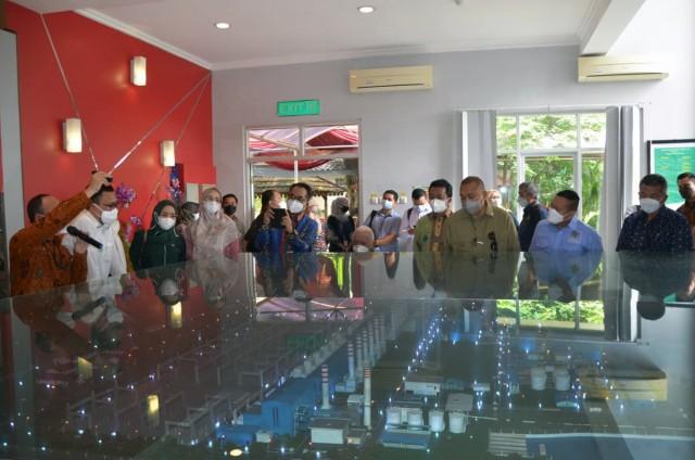 Alex Noerdin Tegaskan Operasional PLTGU Muara Tawar Jangan Terganggu Pulau Reklamasi