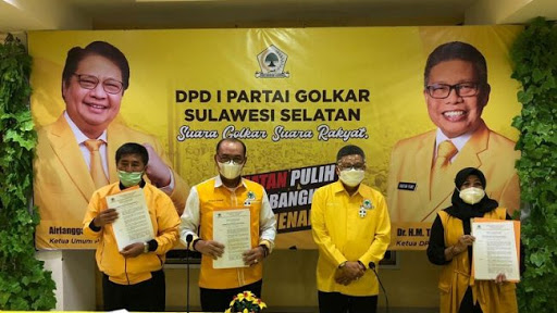 Taufan Pawe Kembali Tunjuk Plt Ketua DPD II Golkar, Kali Ini Bulukumba, Enrekang dan Toraja Utara