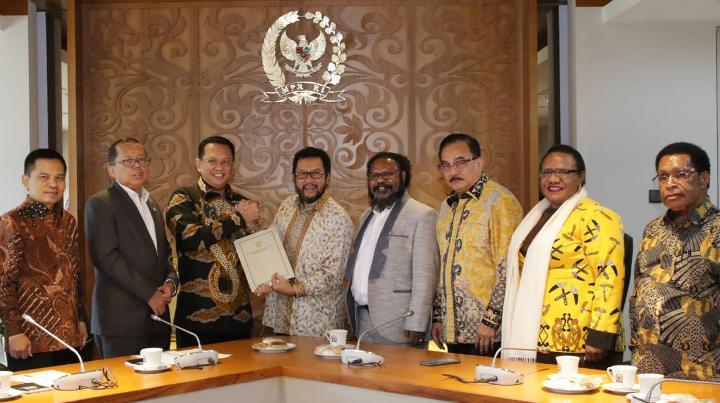 Bamsoet Ajak FOR Papua Perkuat MPR Sebagai Rumah Kebangsaan