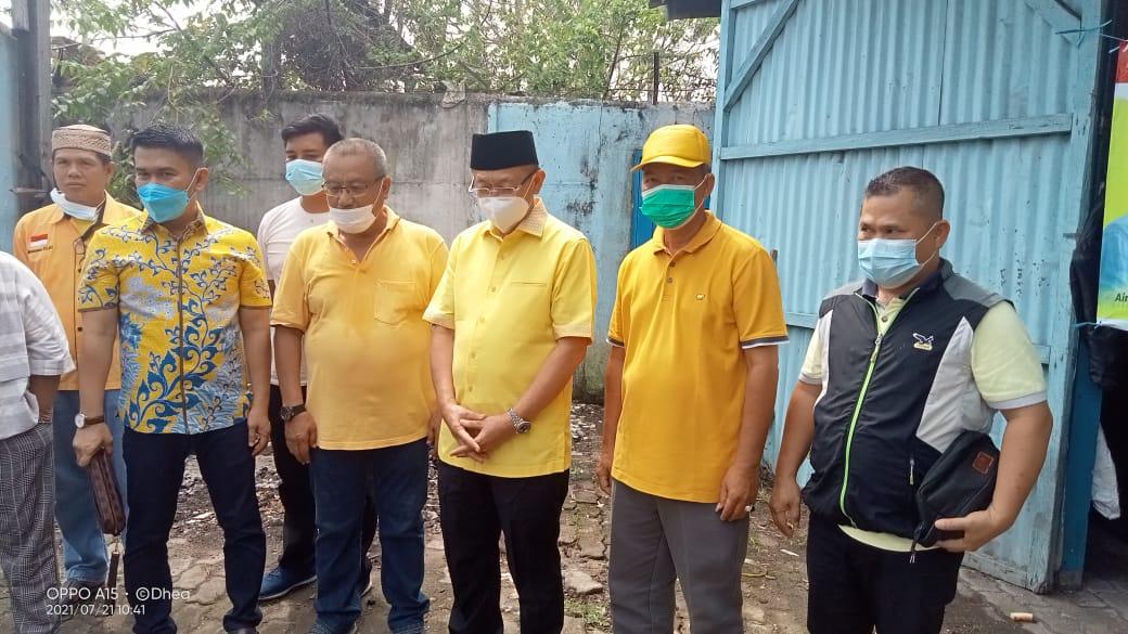 Endria Putra Pimpin Golkar Kota Jambi Potong Hewan Kurban, Cek Endra Hadir Beri Sambutan