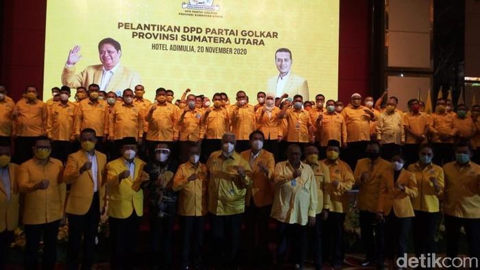 Ilhamsyah dan Ikhwan Nasution Dampingi Musa Rajekshah Pimpin Golkar Sumut 2020-2025