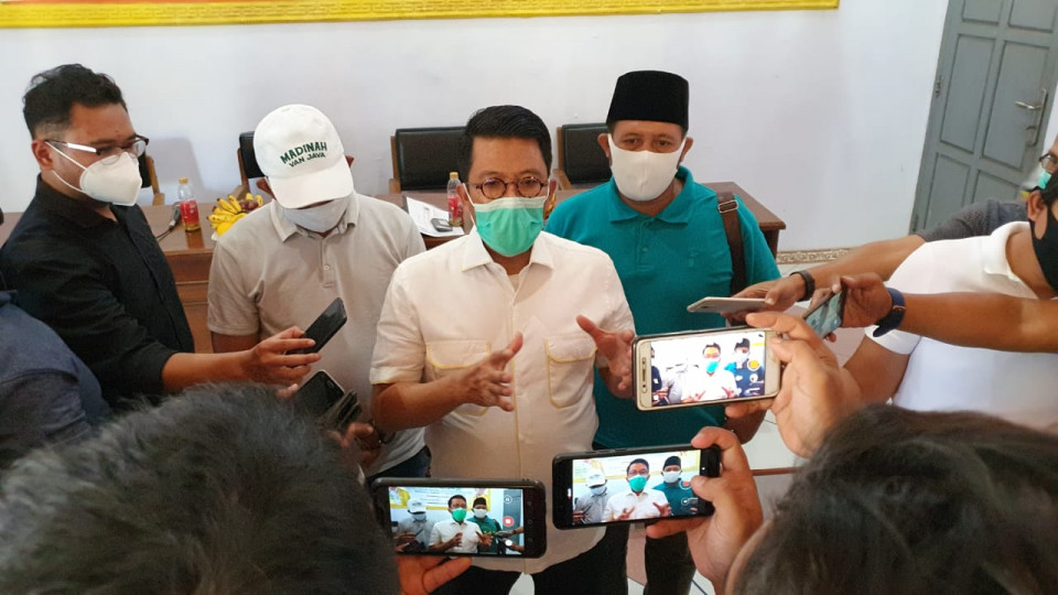 Reses di Pasuruan, Misbakhun Jelaskan Maksud Jokowi di Balik UU Cipta Kerja