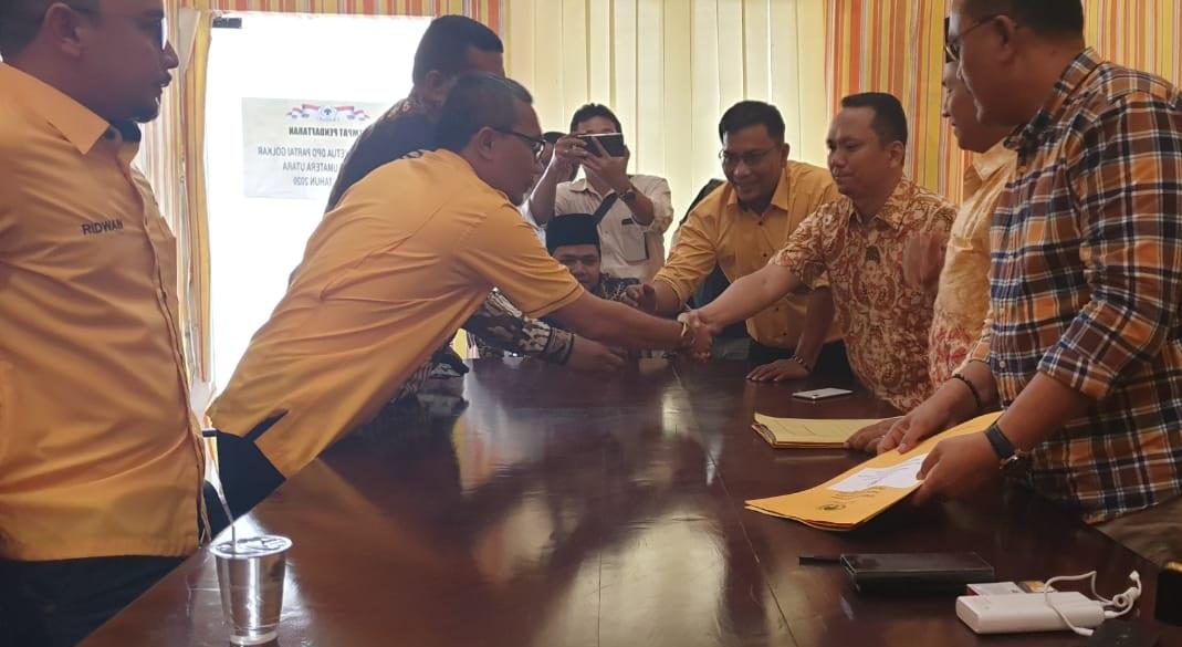Yasir Ridho Lubis Jadi Pendaftar Pertama Balon Ketua DPD I Partai Golkar Sumut