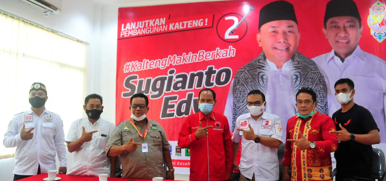 Survei Terbaru, Sugianto Sabran-Edy Pratowo Unggul 64 Persen di Pilgub Kalteng