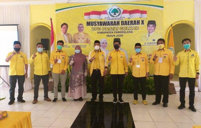 Golkar Pandeglang Wajibkan Seluruh Kader Menangkan Irna Narulita-Tanto Warsono Arban