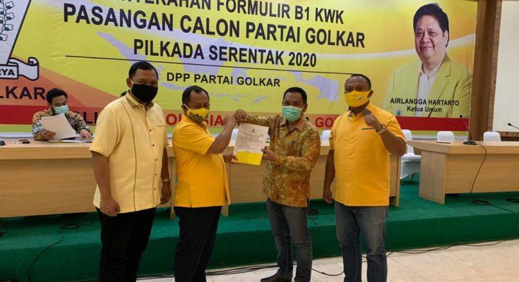 Rekomendasi DPP Jatuh Pada Yoyok Mulyadi-Abu Bakar Abdi, Golkar Situbondo Siap Kawal dan Menangkan