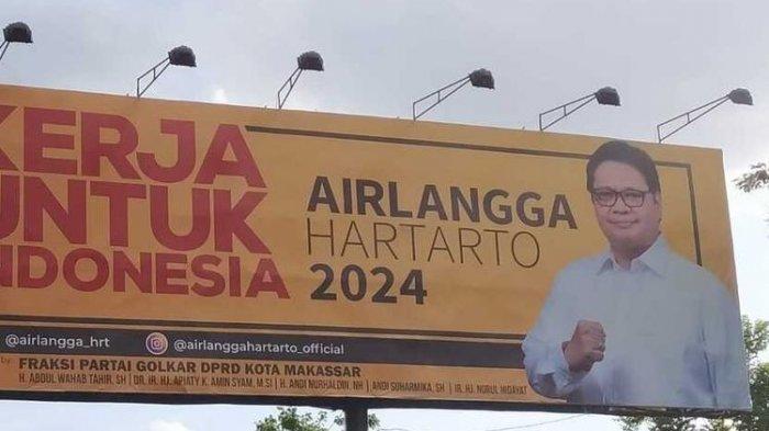 Front Kerakyatan: Baliho Airlangga Memotivasi Rakyat Indonesia Untuk Gotong Royong