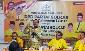Panaskan Mesin Politik Tatap Pemilu 2024, Golkar Kalsel Gelar Pendidikan Politik Untuk Konsolidasi Organisasi