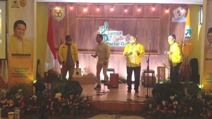 Gelar Lomba Cipta Lagu, Golkar Jawa Timur Kian Digandrungi Kaum Milenial