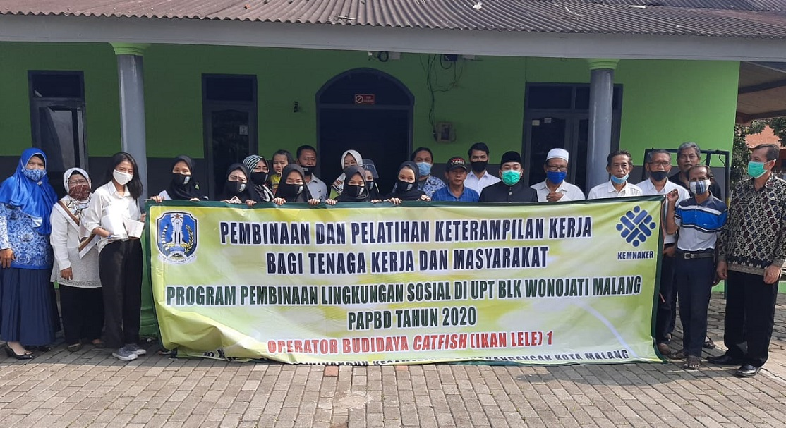 Gandeng BLK Wonojati, Suryadi Gelar Pelatihan Budidaya Lele Untuk Warga Arjowinangun