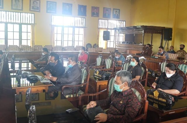 Fraksi Golkar Tak Ikut Bahas RAPBD 2021, Kisruh DPRD Bangli Terus Berlanjut