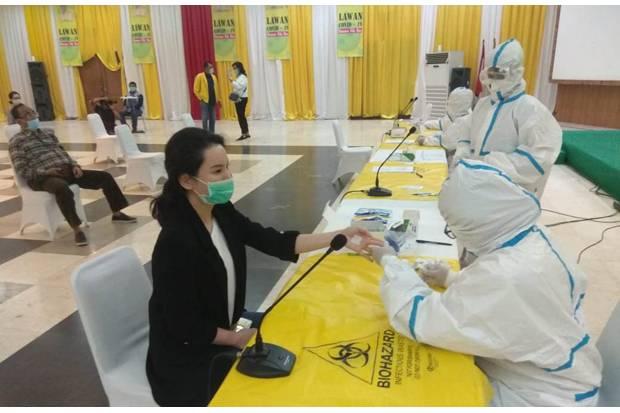 Pastikan Kadernya Aman Dari Corona, DPP Golkar Gelar Rapid Test