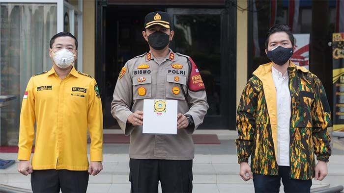 PP AMPG Bagikan 200 Paket Makanan Siap Saji Selama Seminggu Kepada Masyarakat DKI Jakarta