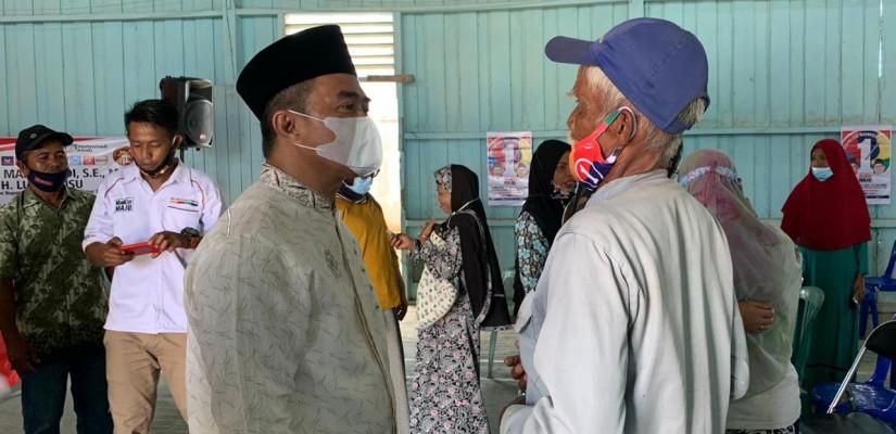 Mahyunadi Janjikan Warga Maloy Sangkulirang Pendidikan Layak dan Infrastruktur Memadai