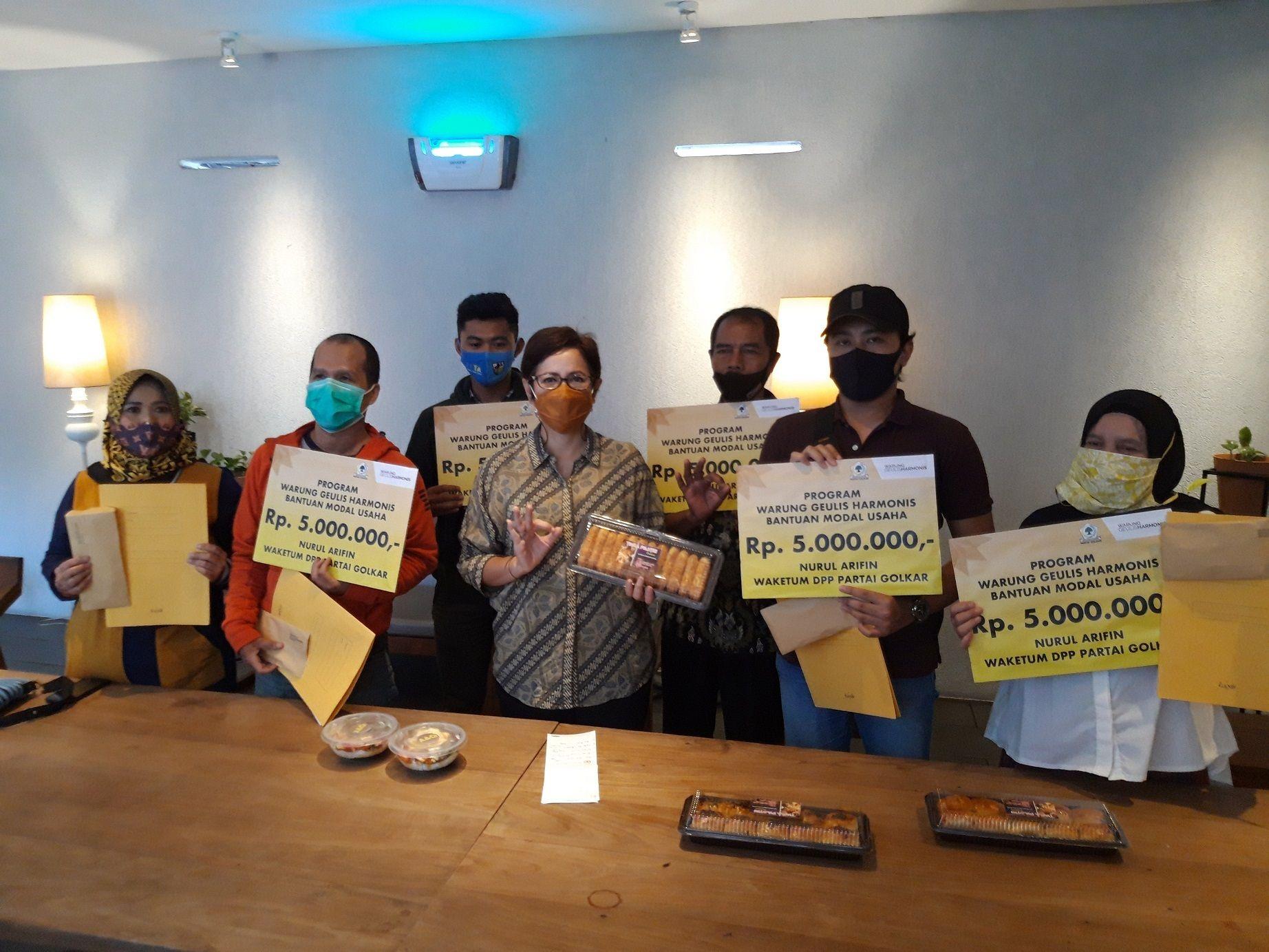 Warung Geulis Harmonis, Cara Nurul Arifin Gerakkan UMKM dan Ekonomi Masyarakat Bandung