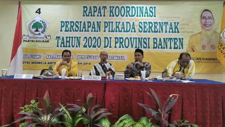 Jelang Pilkada 2020, Bahrul Ulum Pastikan Golkar Banten Panaskan Mesin Partai di 4 Wilayah Ini