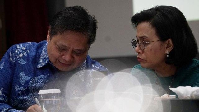 Ups! Menkeu Sri Mulyani Sebut Menko Airlangga Hartarto 'Pak Presiden'