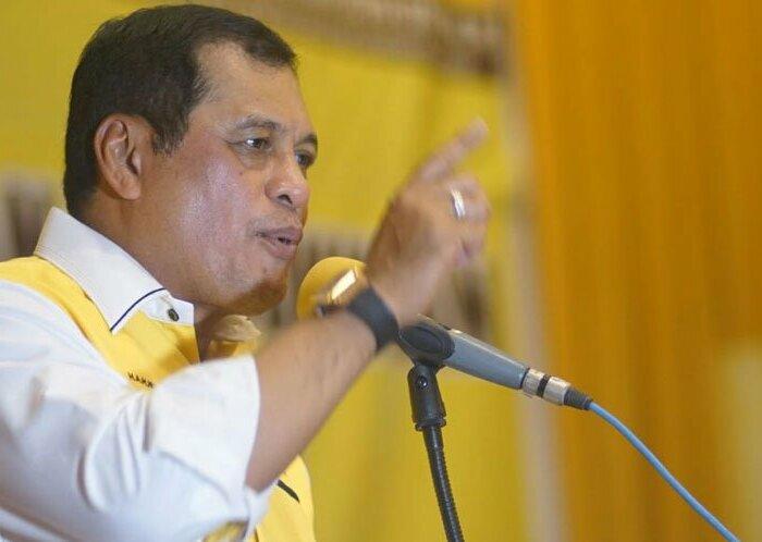 Partai Lain Identik Dengan Satu Tokoh, Nurdin Halid Sebut Kekuatan Golkar Justru di Tangan Kader