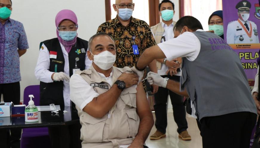 Ahmed Zaki Iskandar Minta Seluruh Kader Golkar DKI Jakarta Bantu Pemerintah Sukseskan Vaksinasi COVID-19
