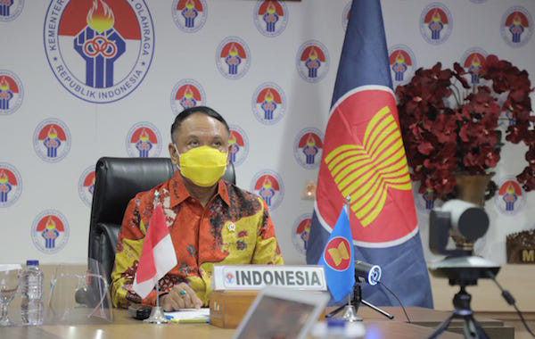 Ini 3 Pesan Penting Menpora Zainudin Amali Di Hadapan Para Pemimpin Masa Depan ASEAN