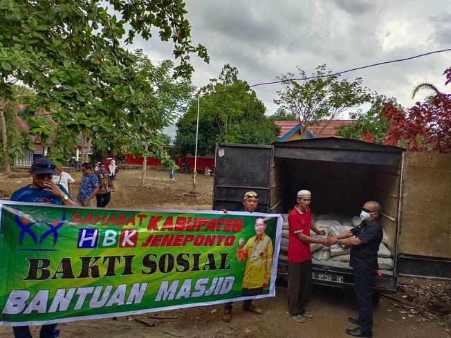 Hamka Baco Kady Bantu Bangun Masjid dan Rumah Korban Kebakaran di Jeneponto