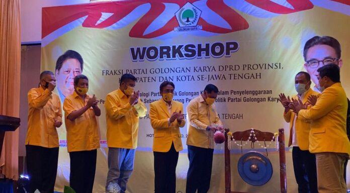 Jelang Pilkada Serentak, Nurdin Halid Pimpin Konsolidasi Partai Golkar Jawa Tengah