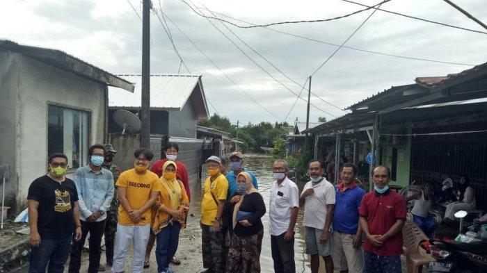 Yoga Nursiwan Pimpin Golkar Belitung Bantu Korban Banjir di Kota Tanjungpandan