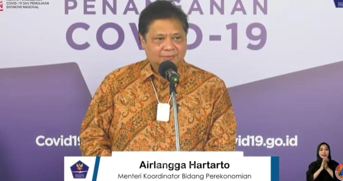 Menko Airlangga Ungkap Indonesia Bakal Resesi Bersama 215 Negara Lain Di Dunia