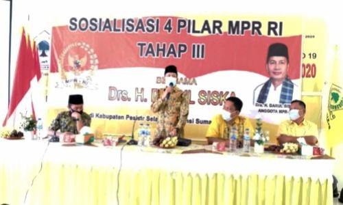 Darul Siska Ajak Umat Islam Sumatera Barat Jadi Pioneer Dalam Menjaga Keberagaman