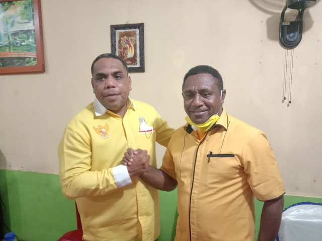 Wasekjen DPP, Amin Ngabalin Sebut Golkar Bakal Usung Lamberthus Jitmau di Pilgub Papua Barat