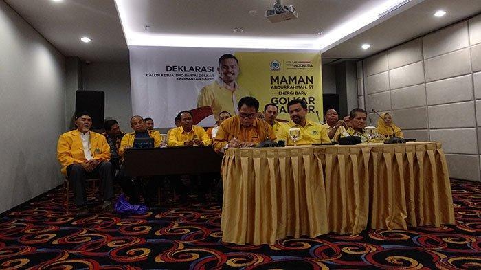 Deklarasikan Diri Maju, Maman Abdurrahman Ingin Musda Golkar Berjalan Riang Gembira