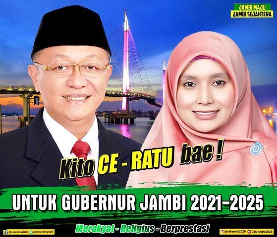 Optimis Menang, Cek Endra-Ratu Munawaroh Jadikan Sarolangun dan Kota Jambi Lumbung Suara