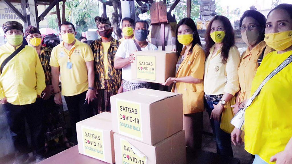 Kolaborasi KPPG dan AMPG Bali Edukasi COVID-19 Pada Para Pedagang Pasar Bualu