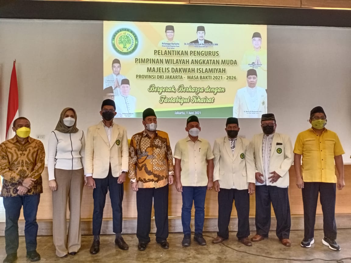 Ketua Umum Syafrin Hi. Yusuf Melantik Jajaran Pengurus AMMDI DKI Jakarta