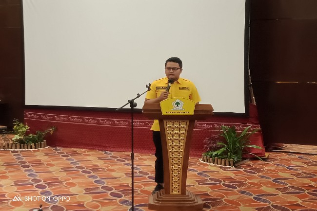 Ilyas Akbar Almadani Tegaskan Golkar Karanganyar Dukung Airlangga Capres 2024