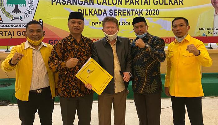 Rekomendasi Golkar di Pilkada Bone Bolango Jatuh Pada Rusliyanto Moarfa-Umar Ibrahim