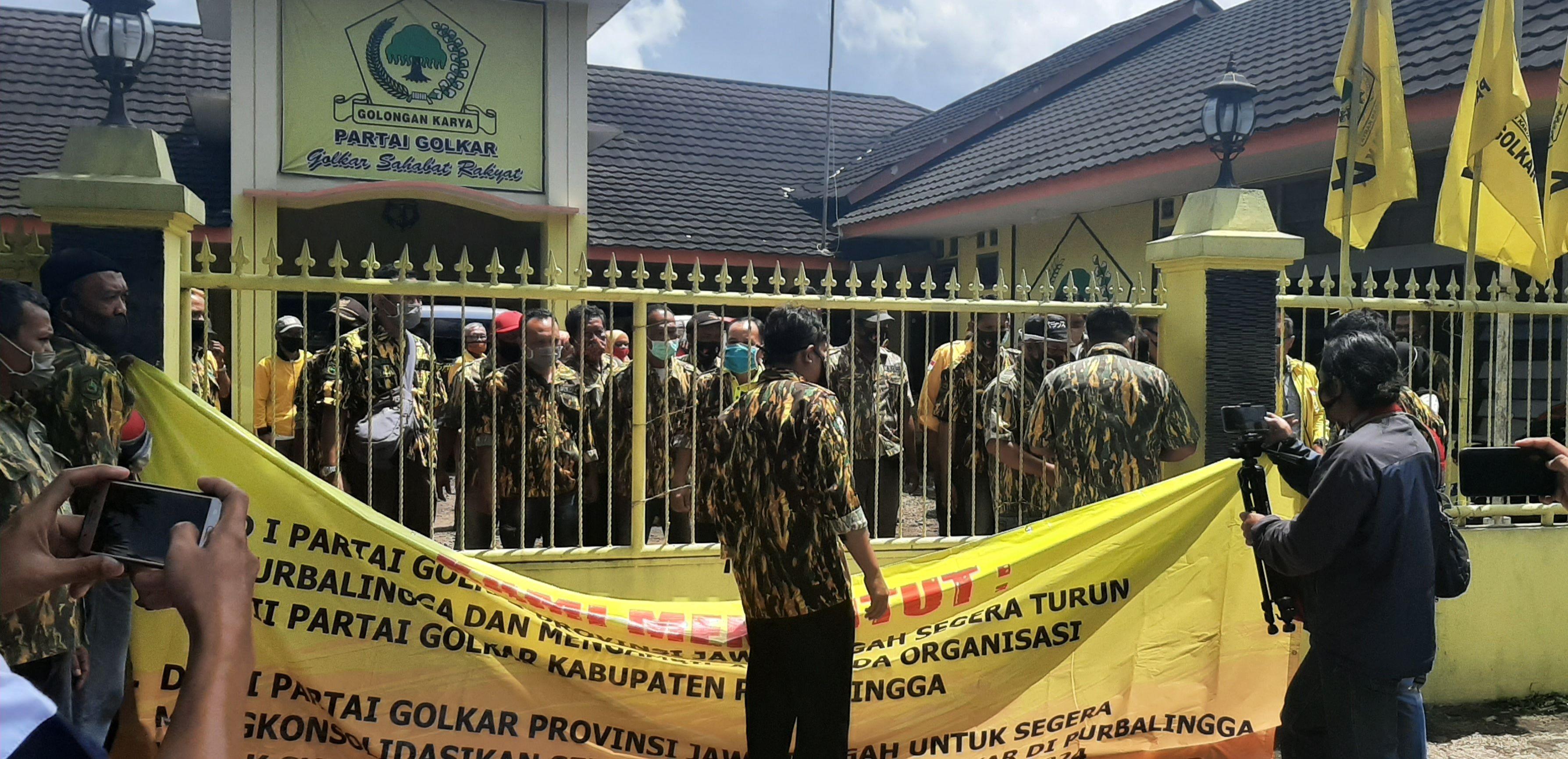 Kisruh Musda Golkar Purbalingga, Para Pengurus PK Adukan Nasibnya Ke Ketua Umum Airlangga