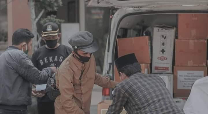 Stok di PMI Kian Menipis, Syahrul Ramadhan Minta Pengurus GEMA Ormas MKGR Donor Darah