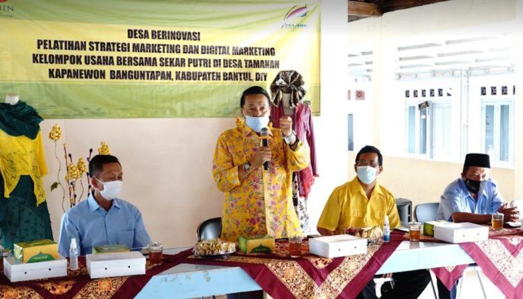 Gandung Pardiman Bantu Kebangkitan UMKM Bantul Dari Keterpurukan Dampak Pandemi