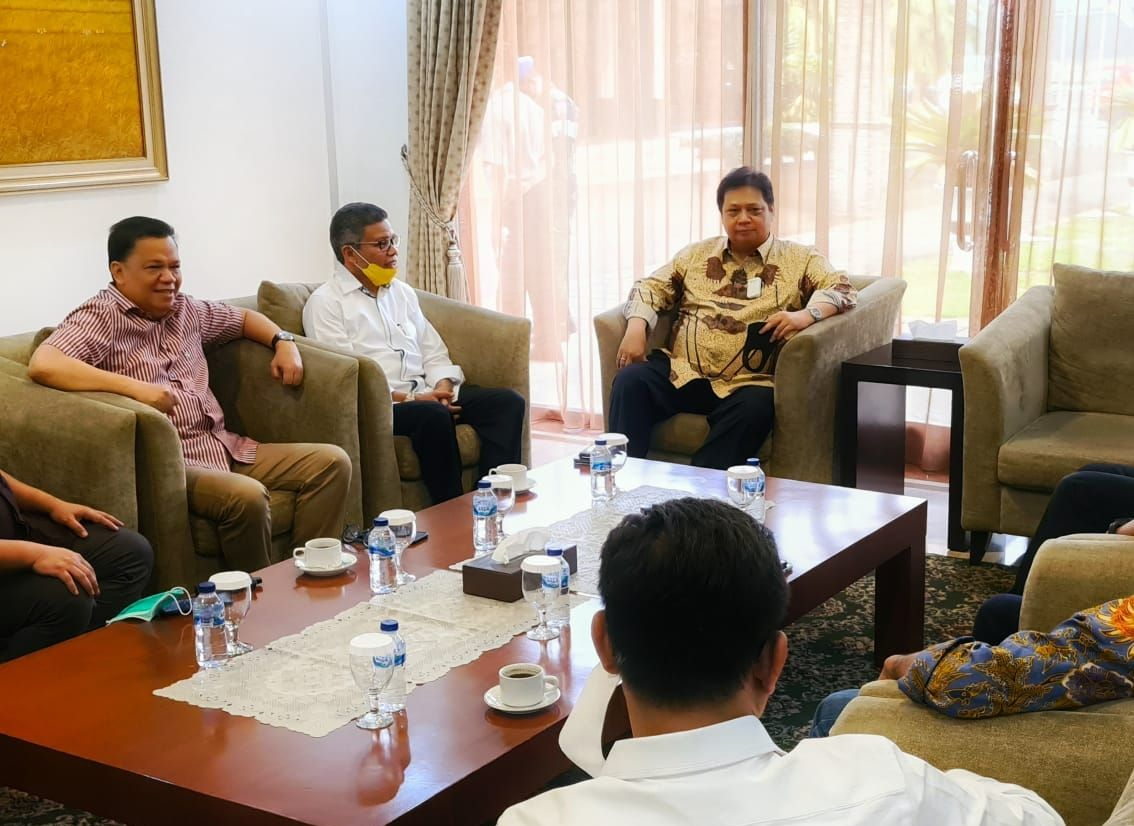Terpilih Pimpin Golkar Sulsel, Taufan Pawe Langsung Paparkan Strategi Pilkada Di Depan Airlangga