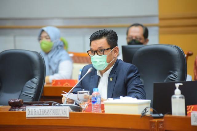 Soal RUU Penanggulangan Bencana, Ace Hasan: Belum Ada Titik Temu Terkait Nomenklatur