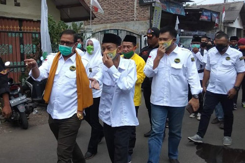 Isro Mi'roj Ditunjuk Jadi Komandan Tim Pemenangan Ratu Ati Marliati-Sokhidin di Pilkada Cilegon
