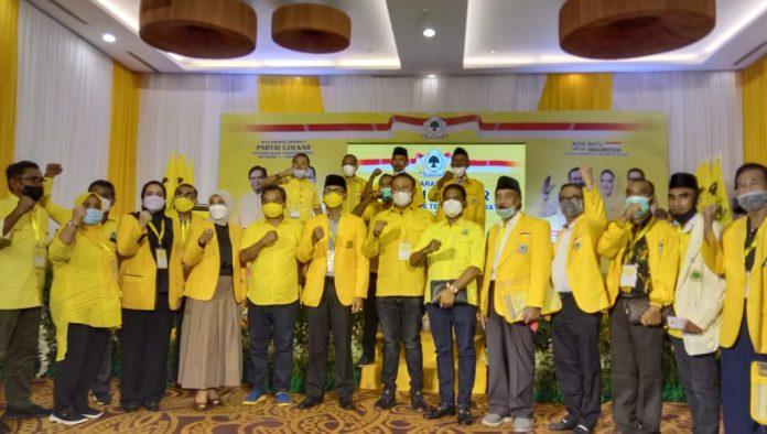 Walikota Mataram, Mohan Roliskana Terpilih Aklamasi Pimpin Golkar NTB
