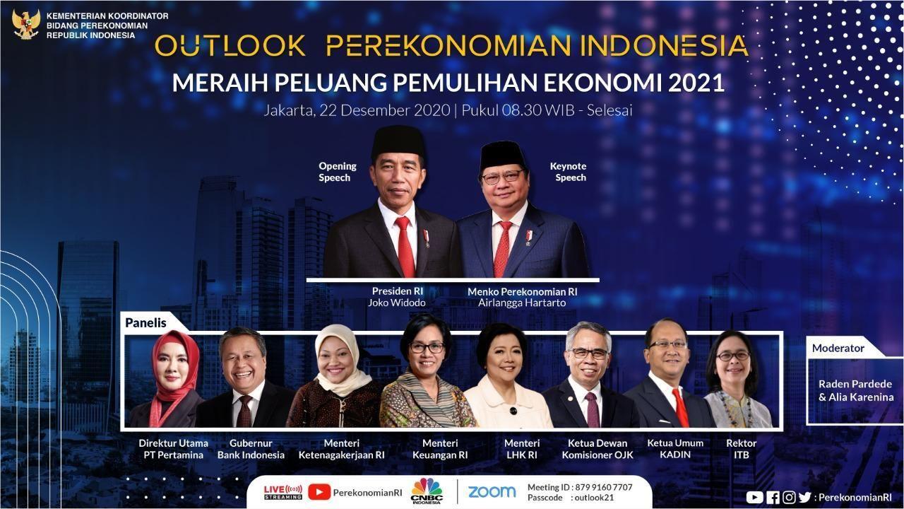 2021 Tahun Pemulihan Ekonomi Nasional, Airlangga: Saatnya Kembali Bekerja Manfaatkan Peluang
